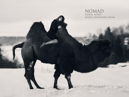 צילומים עם חיות (צילום: דריה קונדרטייבה)