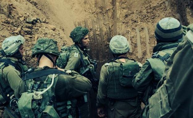 """התרעה על איום המנהרות (צילום: דובר צה""""ל)"""