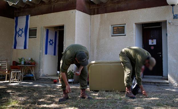 בשורה לחיילים (צילום: רויטרס)