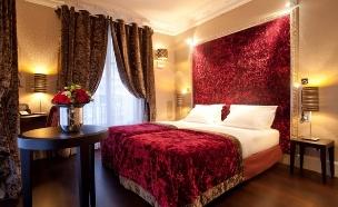 חדר במלון Ares Eiffel פריז (צילום: אתר מלון חדר Ares Eiffel פריז, האתר הרשמי)