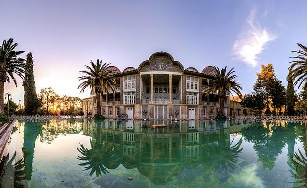מסגדים באיראן, Eram Garden (צילום: מתוך הפייסבוק של Mohammad Reza Domiri Ganji)