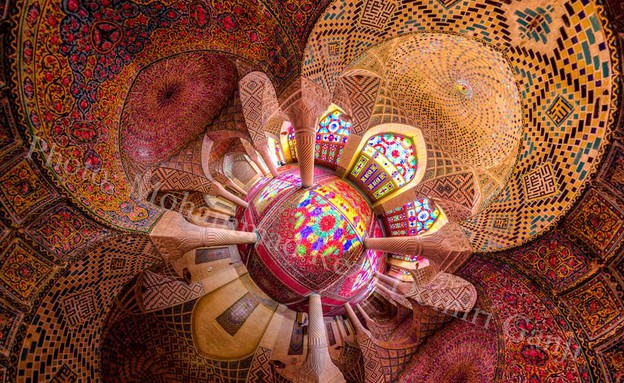 מסגדים באיראן, Nasir al-Mulk (צילום: מתוך הפייסבוק של Mohammad Reza Domiri Ganji)