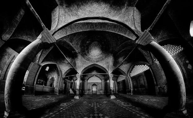 מסגדים באיראן, Seyyed Mosque , Isfahan (צילום: מתוך הפייסבוק של Mohammad Reza Domiri Ganji)