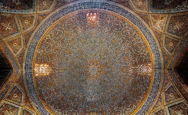 מסגדים באיראן, Shah(Emam ) mosque (צילום: מתוך הפייסבוק של Mohammad Reza Domiri Ganji)