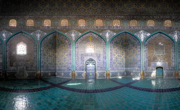 מסגדים באיראן, Sheikh lotfollah Mosque (צילום: מתוך הפייסבוק של Mohammad Reza Domiri Ganji)