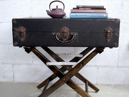 שולחנות קפה עשה זאת בעצמך, שולחן מזוודה (צילום: apartmenttherapy)