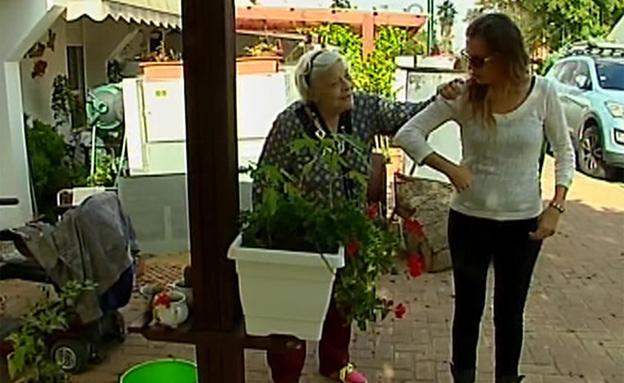 קשישה (צילום: חדשות 2)
