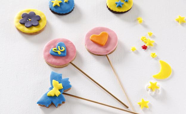 עוגיות מקושטות בצק סוכר (צילום: אפיק גבאי, אוכל טוב)