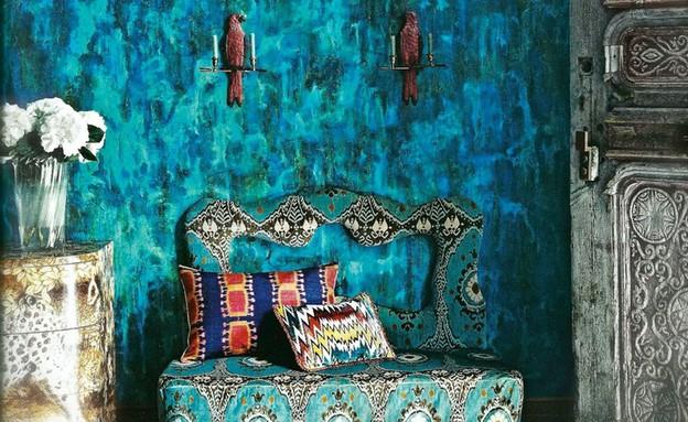 עיצוב בוהמייני (צילום:  christopherjonesantiques.co.uk)