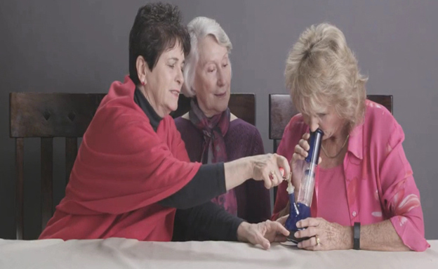 קשישות, סבתות, סמים, באנג, (צילום: חדשות 2)