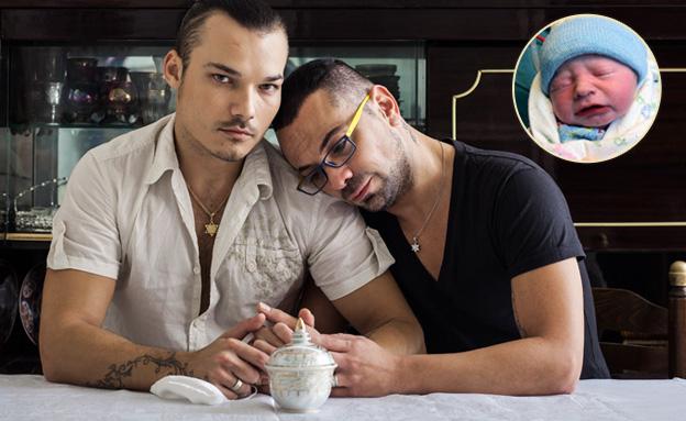 בני הזוג אלכס וחיים עבאדה (צילום: זיו שדה)