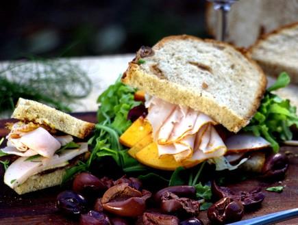 הלחם של תומר כריך פסטרמה (צילום: אפיק גבאי,  יחסי ציבור )