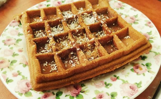 ופל בלגי בריא של פאולה רוזנברג (צילום: פאולה רוזנברג, אוכל טוב)