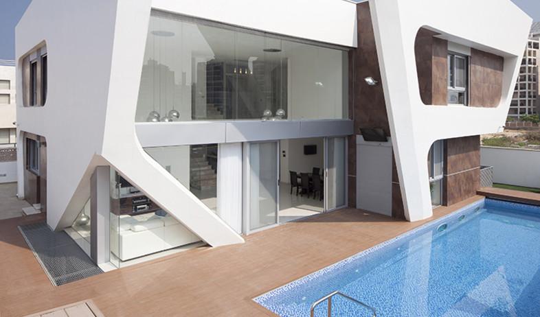 עדכני אדריכלות: הווילה באשדוד זכתה בתחרות אדריכלים CG-19