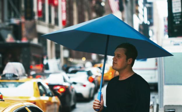 מטריות - מי בכלל צריך את שלד המתכת הזה (צילום: kickstarter)