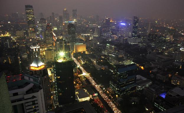 בנגקוק בלילה (צילום: Paula Bronstein, GettyImages IL)
