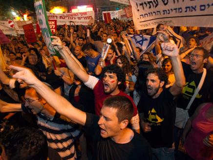הפגנות המחאה החברתית, למצולמים אין קשר לנאמר
