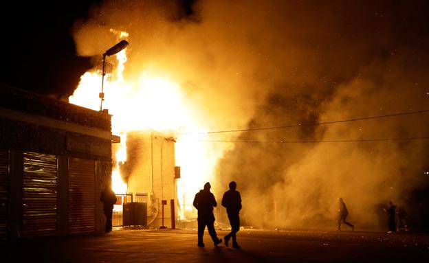 מהומות במיזורי, מיזורי (צילום: חדשות 2)