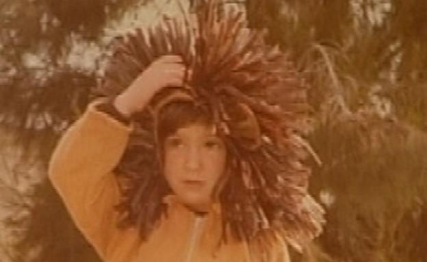 מזהים את הילדה שבתמונה? (תמונת AVI: מתוך אנשים, שידורי קשת)