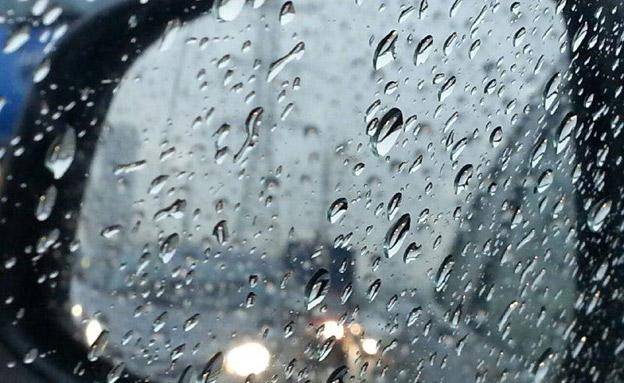 מתכוננים לגשמים כבדים (צילום: אלעד זוהר)