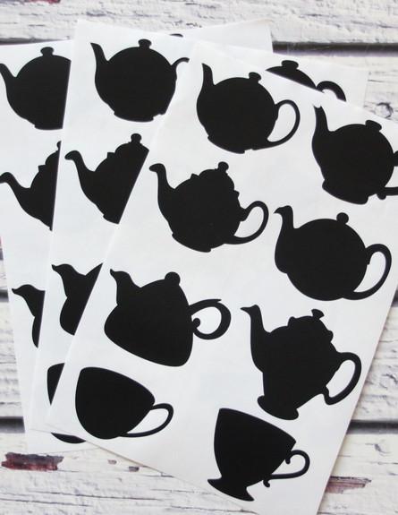 חורף, יעל יניב במרמלדה מרקט, מדבקות קנקני תה, 25 ש (צילום: יעל יניב)