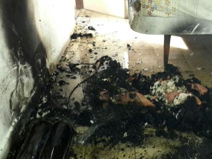 התנור שגרם לשריפה