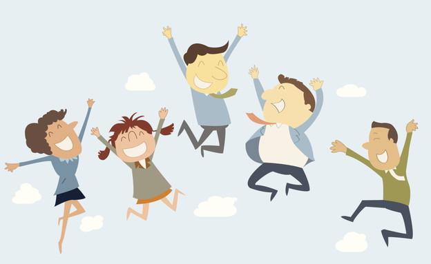 עובדים שמחים, עובד שמח, עובדת שמחה (צילום: jesadaphorn, Thinkstock)