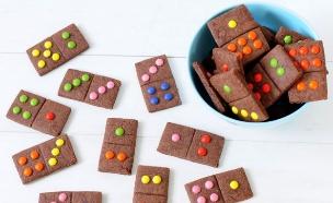 עוגיות דומינו (צילום: שרית נובק - מיס פטל, אוכל טוב)