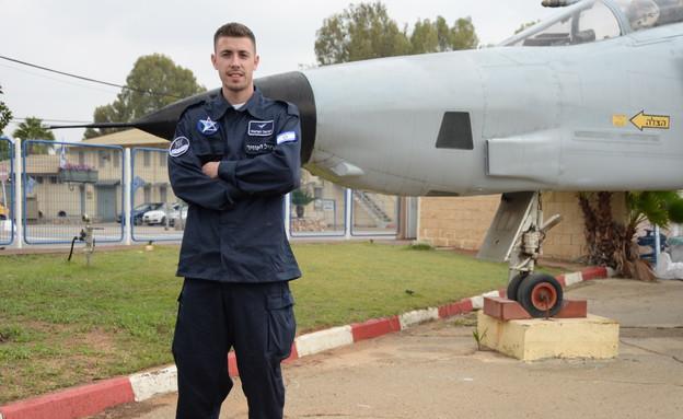 """סרבל חיל האוויר החדש (צילום: דודי אייזנטל, עיתון """"במחנה"""")"""