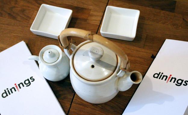 מסעדת דיינינגס בלונדון - כלי תה (וידאו WMV: Bloomberg, GettyImages IL)