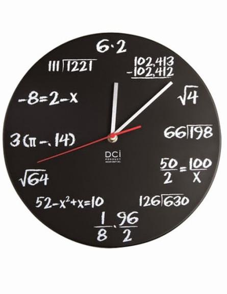 עיצוב גיקי, שעון מתמטי של dci, 180 שקל, להשיג סוהו (צילום: יחצ סוהו)