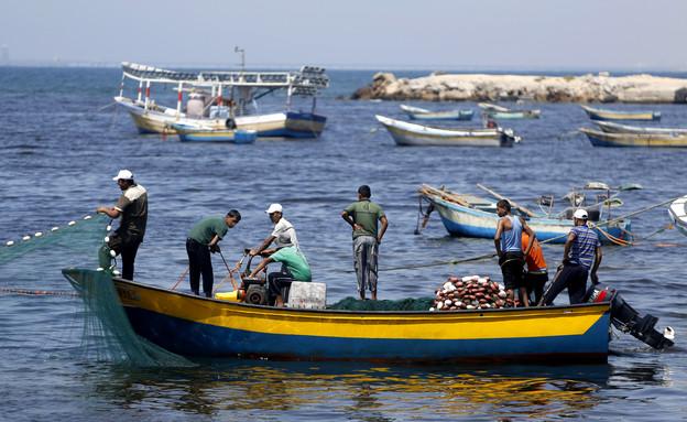 דיגיים פלסטינים (צילום: ap)