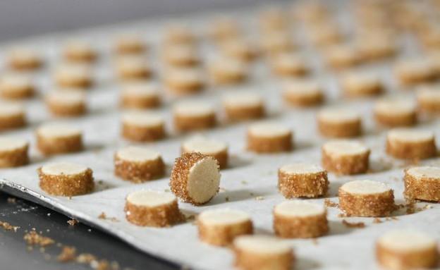 עוגיות חמאה צרפתיות (צילום: דן פרץ, קונדיטוריית לחמי)