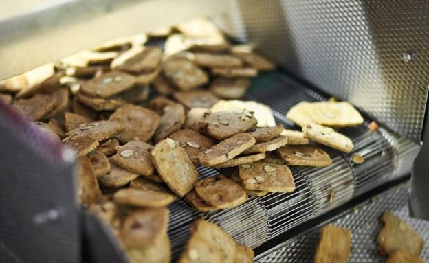 עוגיות מלבן שקדים (צילום: דן פרץ, קונדיטוריית לחמי)