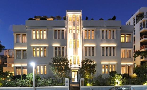 המלון - מלון נורמן מבחוץ (צילום:  עמית גירון,  יחסי ציבור )