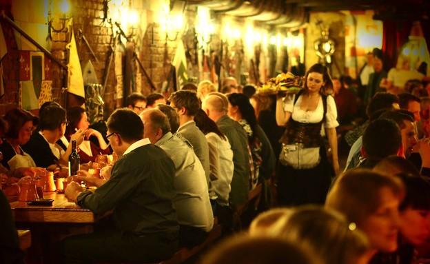 מסעדת סר לנסלוט, בודפשט (צילום: www.sirlancelot.hu, האתר הרשמי)