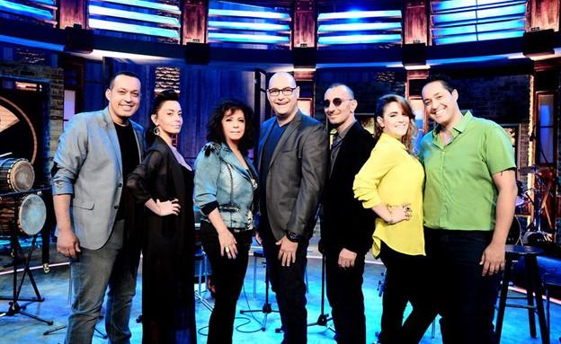 השופטים של משפחה בהופעה (צילום: רונן אקרמן)