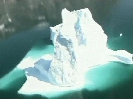 קרחונים נמסים גורמים לאסונות (צילום: SKYNEWS)