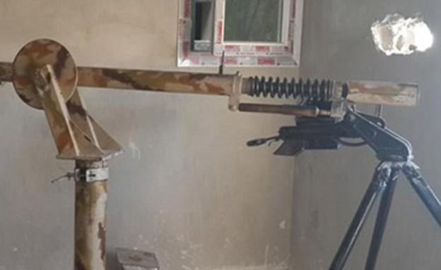 רובה צלפים דאעש (צילום: dailymail.co.uk)