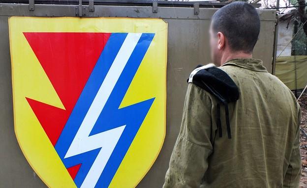 """מפקד גדוד הלוחמה האלקטרונית (צילום: דובר צה""""ל)"""