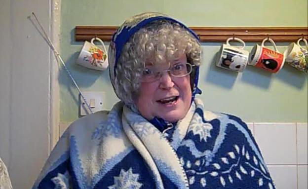הסבתא הבריטית (תמונת AVI: מתוך מועדון לילה, שידורי קשת)