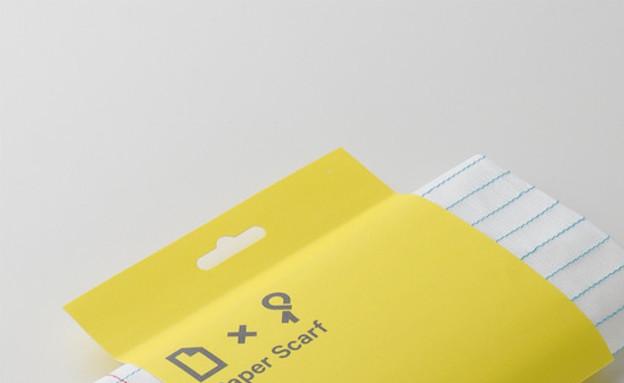 החמישייה 8.12, צעיף נייר,littlefactory (3) (צילום: littlefactory )