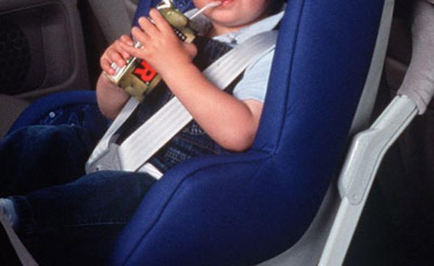 מושב בטיחות לילדים (צילום: AP)
