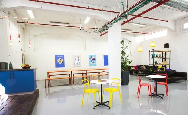 סטודיו Hube, משרדי Rumble (צילום: ראובן שאול )