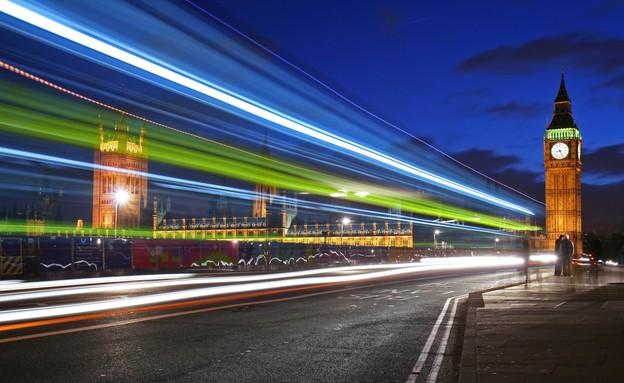 לונדון: ווסטמיניסטר בלילה (צילום: Mike Liu, GettyImages IL)