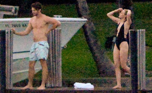 מיילי ופטריק (צילום: INFphoto.com, Splash news)