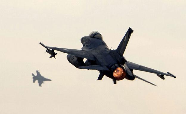 ישראל ויוון בתרגיל אווירי משותף (צילום: חזי שמואלי)