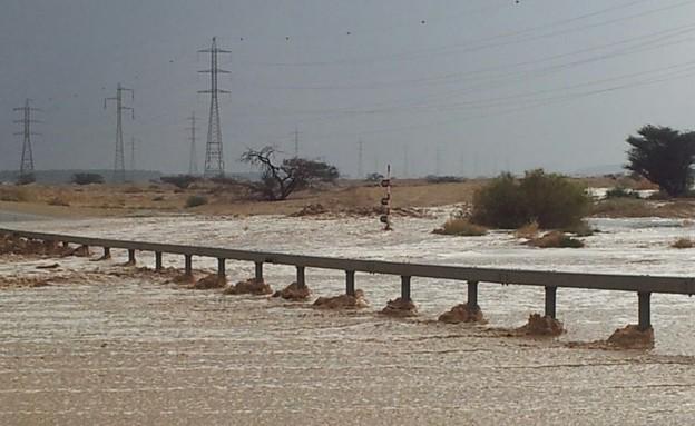 נפט בערבה (צילום: שי שוובר)