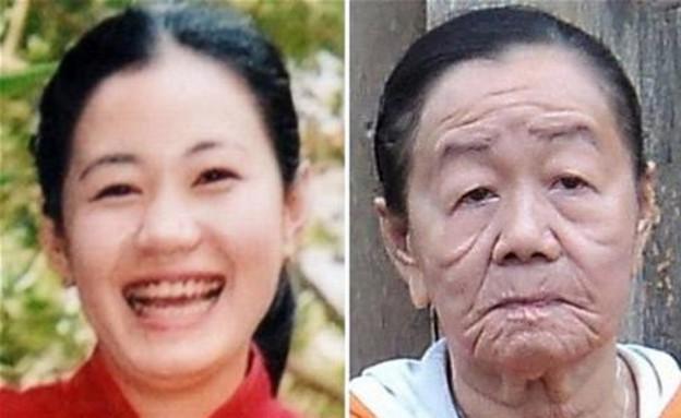 צעירה זקנה (צילום: shanghaiist.com)
