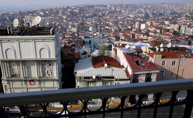 שי גל באיסטנבול (צילום: שי גל 2, צילום ביתי)
